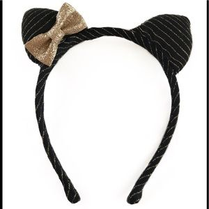 Other - Girls Black And Gold Headband